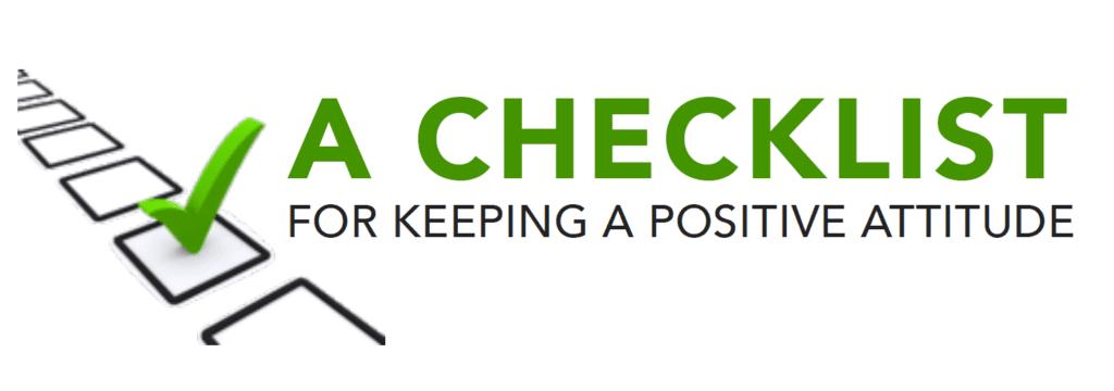 Positive Attitude Checklist 1024x360, Family Martial Arts Academy Fayetteville